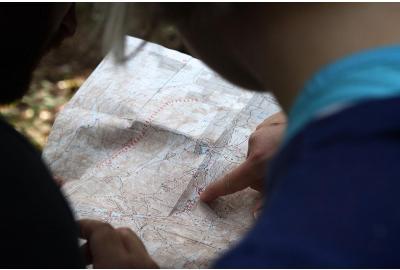 Coördinaten bepalen en aflezen op de kaart