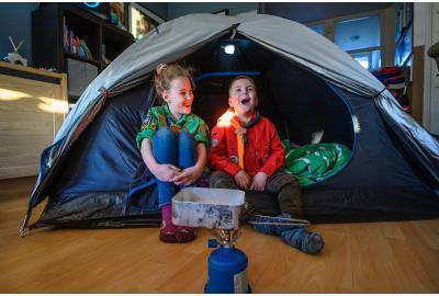 De 6 beste tips voor kamperen in je eigen huis
