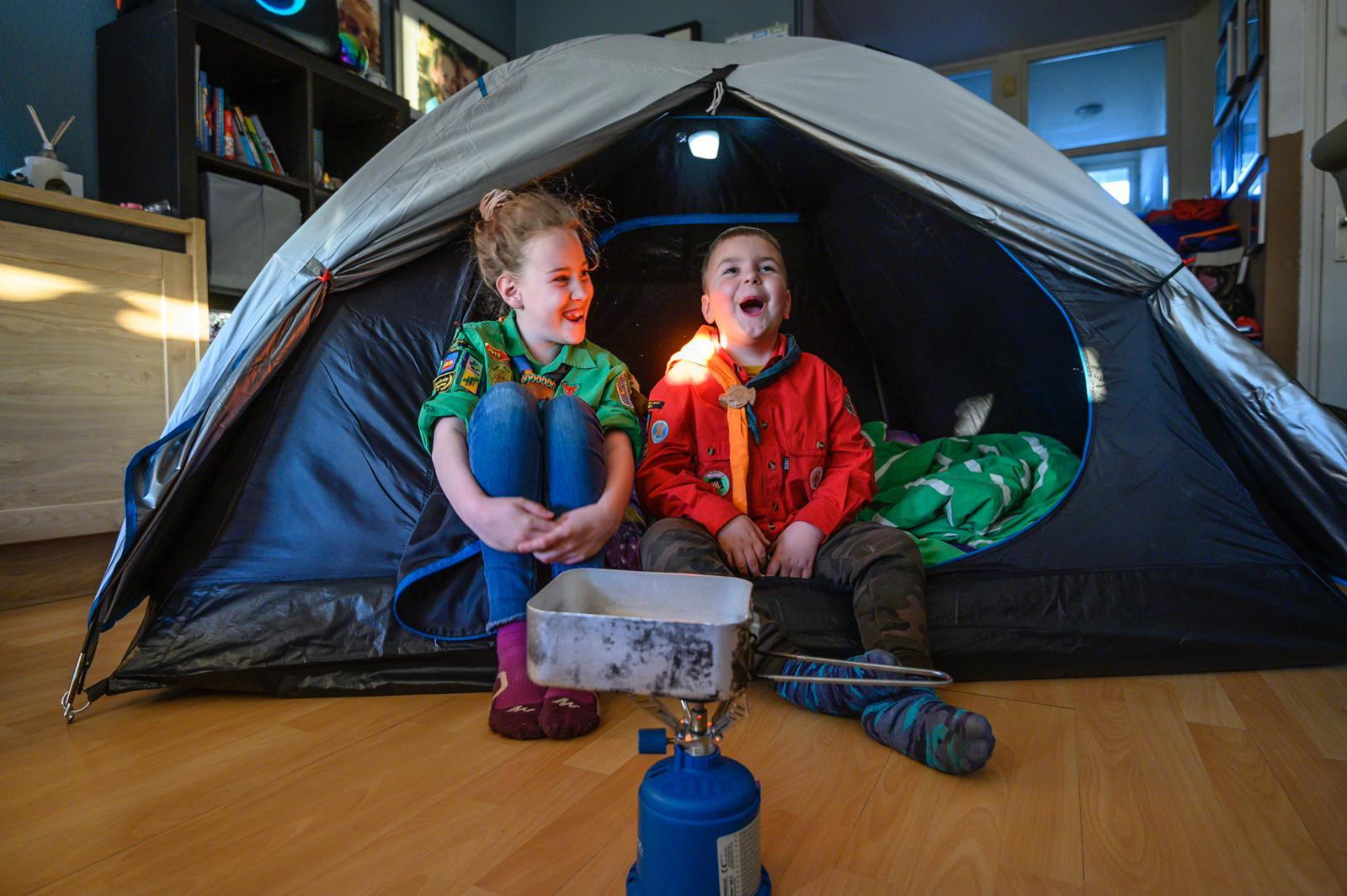 De 7 beste tips voor kamperen in je eigen huis