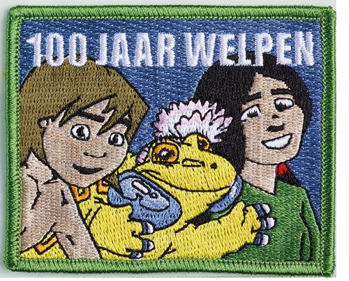 Badge 100 jaar welpen
