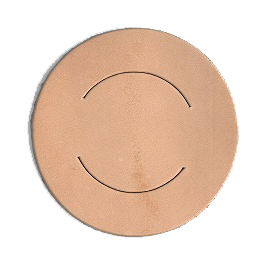 Dasring-leer-rond-7-cm