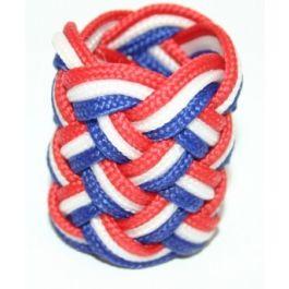 Dasring-nylon-rood/wit/blauw
