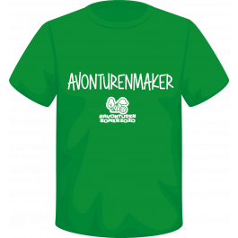 T-shirt-Avonturenmaker-2020-kelly-green