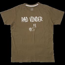 Scoutfun-t-shirt-Pad-Vinder-groen