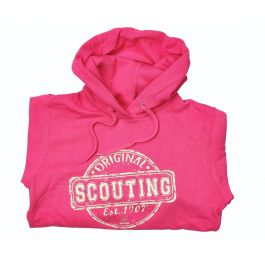 Scouting-Original-dameshoodie-roze