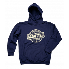 Scouting-Original-kinderhoodie-navy