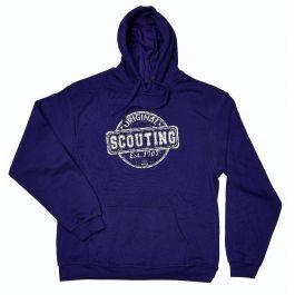 Scouting-Original-dameshoodie-paars