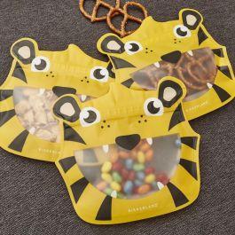 Kikkerland-herbruikbaar-snackzakje-tijger-set-van-3