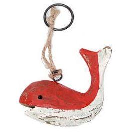 Sleutelhanger-walvis-rood