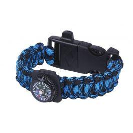 Expeditie-natuur-survival-armband-blauw