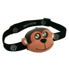 Kids-hoofdlampje-aap