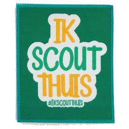 Evenementenbadge-#Ikscoutthuis
