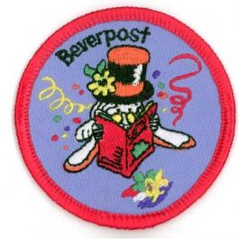 Beverpostbadge