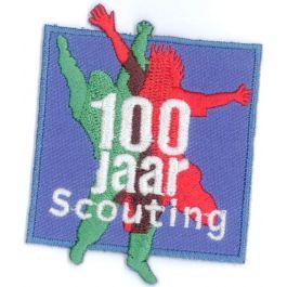 Jubileumbadge-100-jaar-Scouting-Nederland