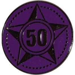 Lustrumteken-pin-paars-50-jaar-