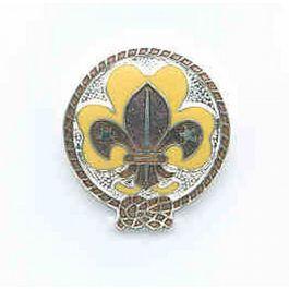 Baret/hoed-insigne-Scouting-Nederland