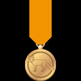 Waarderingsteken-Gouden-vos-(medaille-+-badge)