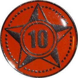 Lustrumteken-pin-oranje-10-jaar