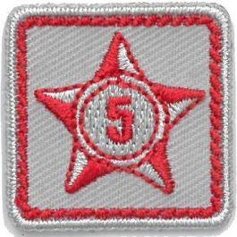 Lustrumteken-badge-rood-5-jaar