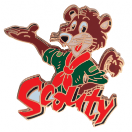 Scouty-pin