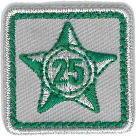 Lustrumteken-badge-donkergroen-25-jaar