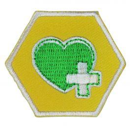 Insigne-Explorers-Veilig-&-Gezond-(geel)