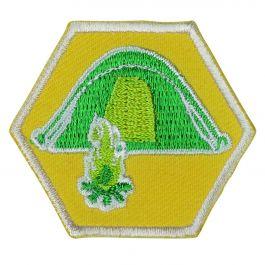 Insigne-Explorers-Uitdagende-Scoutingtechnieken-(UST)-(geel)
