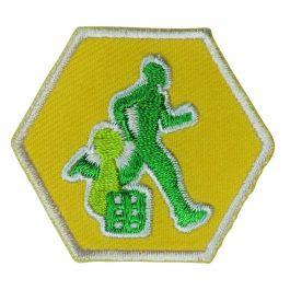 Insigne-Explorers-Sport-&-Spel-(geel)