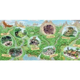 Poster-Junglekaart