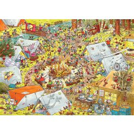 Puzzel-Scouts-&-Squirrels-Op-Kamp-1000-stukjes