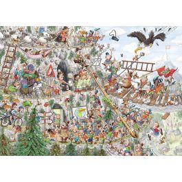 Puzzel-Scouts-&-Squirrels-De-bergen-in-1000-stukjes