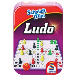 Schmidt-mini-bordspel-Ludo-(Mens-erger-je-niet)-in-blik-
