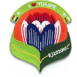 Funbadge-Europese-Jamboree-2020-I-love-tulips