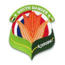 Troepbadge-Europese-Jamboree-2020-Dutch-Dancer