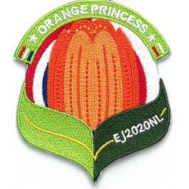 Troepbadge-Europese-Jamboree-2020-Orange-princess