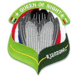 Troepbadge-Europese-Jamboree-2020-Queen-of-the-night