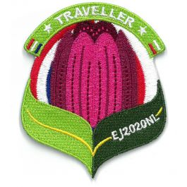 Troepbadge-Europese-Jamboree-2020-Traveller