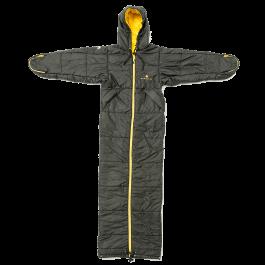 Bergstop-Classic-slaapzak-en-jas-in-een-Cozybag-zwart/geel