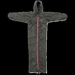 Bergstop-Classic-slaapzak-en-jas-in-een-Cozybag-zwart/roze