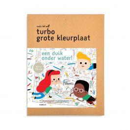 Turbo-grote-kleurplaat-'Water'