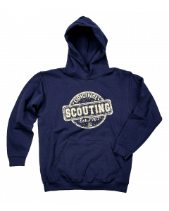 Scouting Original kinderhoodie navy