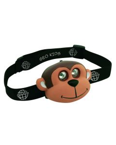 Kids hoofdlampje aap