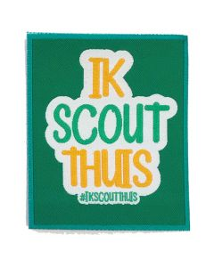 Evenementenbadge #Ikscoutthuis