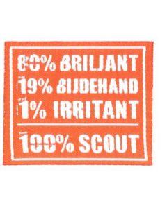 100% badge-set (5 stuks)