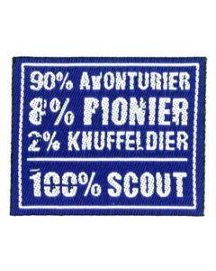 100% badge avonturier