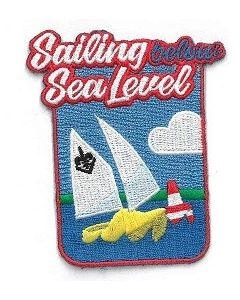 Funbadge Scouting under sea level