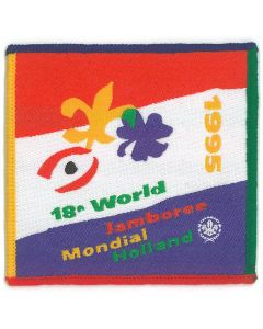 World Jamboree badge WJ95