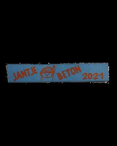 Naambandje Jantje Beton collecte 2021