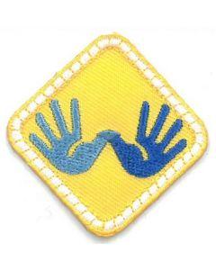 Badge Scouts met een beperking