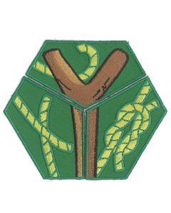 Roverscouts uitdagingen badge-set